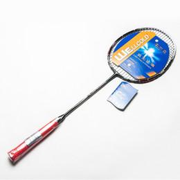 Wholesale Steel Alloy Badminton Rackets for Men High Quality Graphite Ball Control Badminton Rackets Sport Dexterous for Amateur Juniors HK