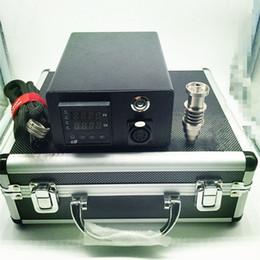 Wholesale DNail Dabber Coil Dabber Box Portable D Nail Dab Stations For Smoking Water Pipes E Nail Dabber Box