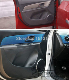 Wholesale New Car Interior Mouldings baking varnish ABS Speaker Ring sound Decoration Loop For Chevrolet Chevy Cruze