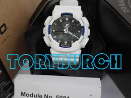 Relojes deportivos de alta calidad relogio G * 100 hombres del conjunto completo, hombres de la marca de lujo ver reloj cronógrafo LED, reloj militar, reloj digital