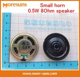 Wholesale Fast Free Ship Small horn W Ohm speaker good quality trumpet loudspeaker Acoustic Components Accessories