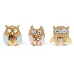 2016 nouveau matriochka owl décoration 3Réglez / lot hulotte décoration poupées journal artisanat 14 * 11 * 2cm décoration maison jardin livraison gratuite à partir de maisons en rondins de bois fabricateur