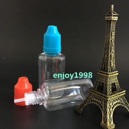 Factory Price Hot Sell Long Needle Bottles 30ml Empty Bottle Plastic Dropper Bottles 1OZ Child Proof Cap e Liquid Bottles 1500pcs Wholesale