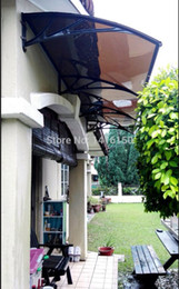 Wholesale DS120300 P x300cm Depth cm Width cm New Collection Simple To Install Home Use Polycarbonate awnings cm