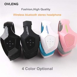 Cool Nice V8-5 Wireless Stereo Bluetooth Headsets BT 4.0 EDR HIFI Sound Indoor Headphone noise cancel Earphone w  Mic for Phones