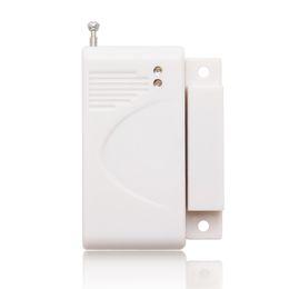 Promotion entrée de la porte de sécurité Détecteur de porte sans fil pour l'aimant d'alarme GSM sans fil à domicile Système de sécurité 433Mhz contact de porte sans fil Fenêtre Entrée capteur détecteur