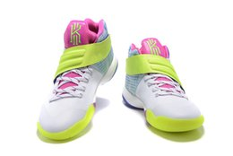 Wholesale 1 New Kyrie EP Irving Mens Casual Shoes Bright Crimson Tie Dye Casual Shoes avs PE Mens Casual Shoes
