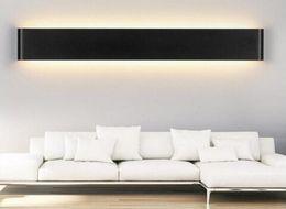 Wholesale LED Light New Modern W W W W W W Led Wall Lamps Aluminum Acryl Lamp V V Mirror Light for Bedroom Living Room Stair Bathroom
