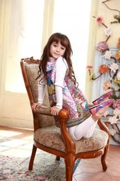 Wholesale Girls Winter Dress Brand Girls Dresses for Children Clothing Dobby Print Children Clothing Manufacturer from China