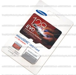 Wholesale DHL shipping GB GB GB GB Samsung EVO Plus micro sd card Class10 smartphone TF card C10 Tablet PC Storage card Cellphone