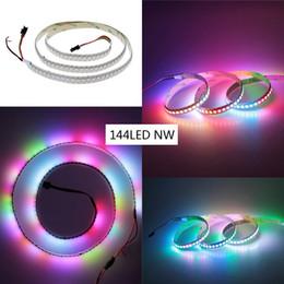 5V WS2812B 5050 RGB LED Strip 1M 144 Leds Individual Addressable,colorful led strip.free shipping.