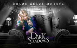 "Free shipping 22"" X 35"" inch Hot Sale chloe_moretz_dark_shadows-wide Movie The human body art silk Poster Custom ART PRINT"