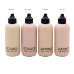 Wholesale 120ML Professional Brand Makeup Base Feeder SKIN PURE Face and Body Liquid Foundation Concealer Sunscreen NC15 NC40 Cosmetics