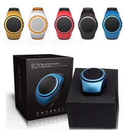 Top Selling B20 Mini Bluetooth Speaker Bass Smart Watch Bluetooth Wireless Universal For Music Player With TF Card