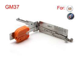 Free shipping Auto Smart 2 in 1 auto decoder and pick tool GM37 lock pick tool locksmith tools