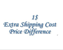 Wholesale payment for extra shipping cost price difference etc