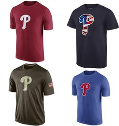 Wholesale Men Philadelphia Phillies Baseball T shirts Fanatics Apparel Platinum Collection Tri Blend Banner Wave Authentic Tees Shirt Shirts Sleeveles