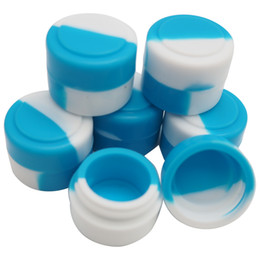 Stock in USA! 500pcs lot wholesale Non-stick Silicone Container For Wax Bho Oil Butane Vaporizer Silicon Jars Dab Wax Container