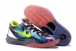 Wholesale Drop Shipping ships out within days Kobe VIII System Prelude FTB Fade To Black For Men Basketball Shoes
