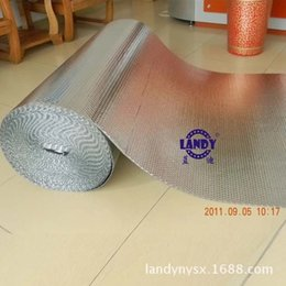 Wholesale Single double bubble insulation material Aluminum foil heat resistant soundproof material lowes fire proof insulation construction material