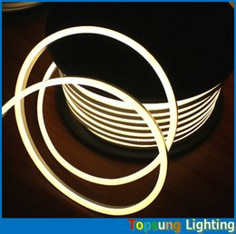 50m spool mini led neon light rope 8.5x17mm super bright strip waterproof white green red blue yellow multi colors 220V 230v 240v