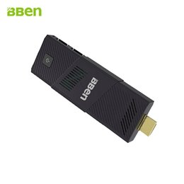 Wholesale Bben Original MINI PC Ubuntu Windows Compute Stick Intel Quad Core HDMI Z8300 G G WIFI Bluetooth Built in Fan
