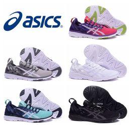 Wholesale 2016 New Design Asics Gel Fit Sana Running Shoes For Women Men Lightweight Super Soft Breathable Athletic Sport Sneakers Eur Size