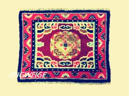 Wholesale Buddhist Mat from Tibet antique rug wool handmade or vegetable dyeing