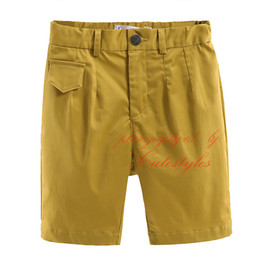Cutestyles New Fashion European and American Solid Color All-Match Style Shorts For Boys Children Clothes With Zipper Fly PT90324-31L