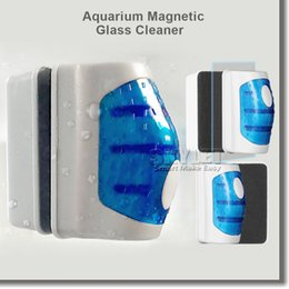 Wholesale Magnetic Brush Aquarium Magnetic Glass Cleaner Fish Tank Glass Algae Cleaner Floating Clean Brush with Retail Package