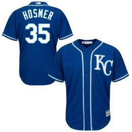 Eric Hosmer Kansas City Royals Cool Base Player Jersey - Royal Baseball Jerseys