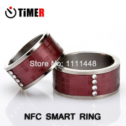 Wholesale TimeR in1 Multifunction NFC Smart Ring Magic Bracelet support sharing Online file password business cards for all NFC Phone