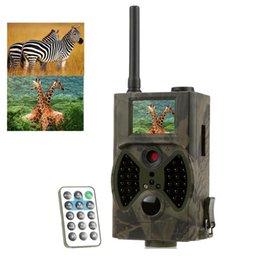 La caza cámara de exploración gsm en Línea-Cámara de caza GSM SMS MMS GPRS 12mp seguridad de la seguridad de la visión nocturna Scouting Hunting Cámara infrarroja HC-300M