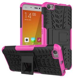 Nouveaux écrans de téléphone en Ligne-nouveau cas de téléphone cellulaire pour MIUI 5 de riz rouge 3 anti-dérapage procès anti - glissant le défenseur antichoc 360 degrés pour protéger le couvercle de l'écran