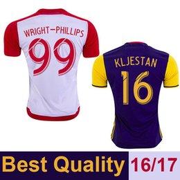 Wholesale 2016 TOP Thai Quality USA Soccer Jerseys WRIGHT PHILLIPS KLJESTAN MCCARTY Camiseta de futbol Home Away Football Shirts
