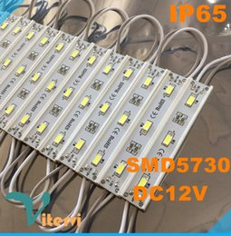 SMD 5730 LED Modules light Waterproof IP65 LED String DC12V Outdoor lamp RGB red blue green yellow Modules light