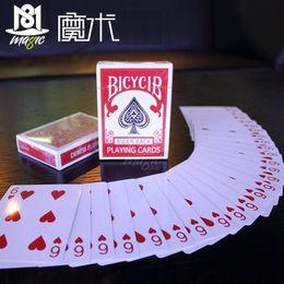 Wholesale Magic Cards Svengali Deck Atom Playing Card Magic Tricks Close up Street Magic Tricks Juggle Card Kid Child Puzzle Toy
