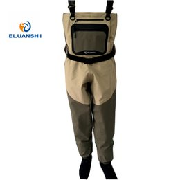 Wholesale rafting wear waterproof wader stocking foot chest waders for hunting fly fishing wader