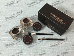 Wholesale Factory Direct DHL New Makeup Eyes Limited Edition Long Wear Gel Eyeliner Set kit Gei Eyeliner Longue Tenue g