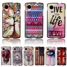 Wholesale-Fashion Brand UltraThin Owl Cartoon Pattern Matte Hard Back Case for Google LG Nexus 5 D820 D821 Cell Phone Protective Cover