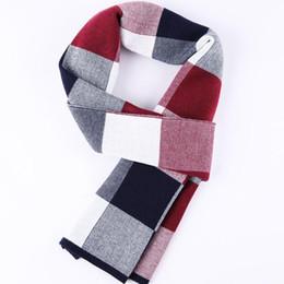 Écharpe en laine Écharpe en treillis en hiver cheap archive box à partir de boîte d'archives fournisseurs