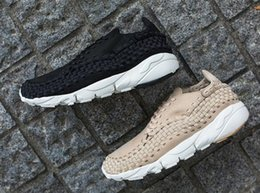 Wholesale personality Lab Air Footscape Woven NM Training Sneakers Shoes Discount cheap new men Driving Shoes Men s athletic Shoes Footwear Shoes