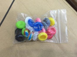 20PCS Rubber Silicone Cap Thumbstick Thumb Stick X Cover Case Skin Joystick Grip Grips For PlayStation 4 PS4 Wireless Controller