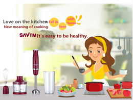 Wholesale SAVTM HB220 m00 Manual electric mixer juicer Multi functional dishes meat grinder making home baby side dish