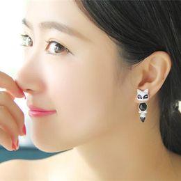 Forme el oso del Fox del oso que el clavo original viejo alrededor de las piezas del pendiente siente el 100% La aleación independiente de la joyería del embalaje de Yiwu Zhejiang fashion jewelry parts promotion desde piezas de joyería de moda proveedores