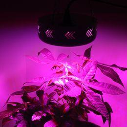 Wholesale 1pcs UFO W Led grow light UV IR White nm aquarium led lighting plant grow Bulb growing Lamp Hydroponic Systems growbox