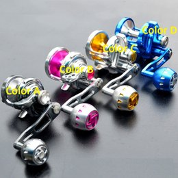 Wholesale Top Quality new Brand Hummer aluminum alloy BB deep sea boat ship drum fishing reel wheel left right interchangeable