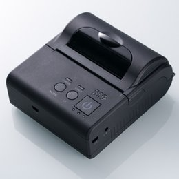 Wholesale 3 inch mm mPOS Mini Bluetooth Mobile Thermal Receipt Printer for Android Phone Tablet and Windows PC Taxi Receipt Tax Invoice Printer