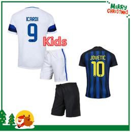 Wholesale 16 Inter Milan kids body kit shirts Children jersey