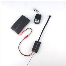 HD 1080P 12MP Security DVR DIY Module Camera With Remote Control Portable Mini Camcorder Support Motion Detectived Video Recording Nanny Cam